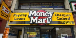 The Money Mart location on Yonge St. in Toronto, Ont. March 16/2011. (Photo by Kevin Van Paassen/The Globe and Mail)